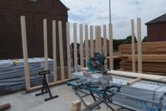 Opstart houtskeletbouw